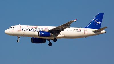 YK-AKA - Airbus A320-232 - Syrianair - Syrian Arab Airlines