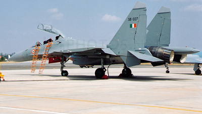 SB027 - Sukhoi Su-30MKI - India - Air Force