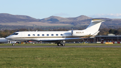 A picture of N829JV - Gulfstream G650 - [6044] - © Lawrence Smith