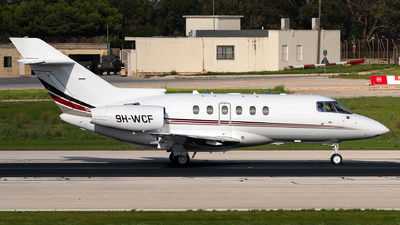 9H-WCF - Raytheon Hawker 800XP - Hyperion Aviation
