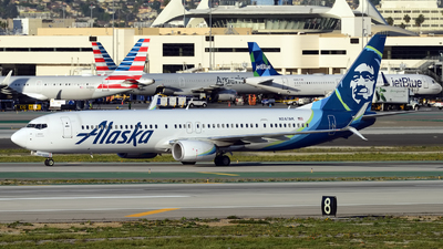 N247AK - Boeing 737-990ER - Alaska Airlines