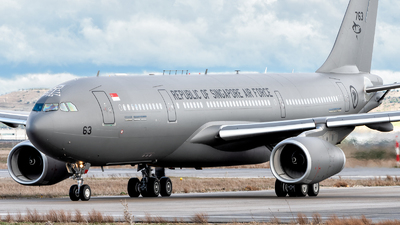 763 - Airbus A330-243(MRTT) - Singapore - Air Force