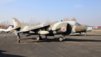 XV278 - Hawker Siddeley Harrier GR.1 - United Kingdom - Royal Air Force (RAF)