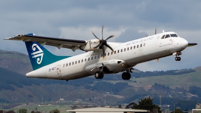 ZK-MCY - ATR 72-212A(500) - Air New Zealand Link (Mount Cook Airline)