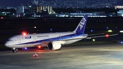 JA878A - Boeing 787-8 Dreamliner - All Nippon Airways (Air Japan)