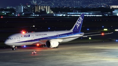 A picture of JA878A - Boeing 7878 Dreamliner - All Nippon Airways - © PENG787