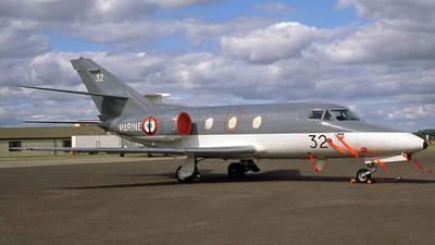 32 - Dassault Falcon 10MER - France - Navy