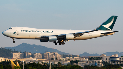 B-LJA - Boeing 747-867F - Cathay Pacific Cargo