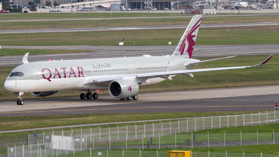 F-WZNM - Airbus A350-941 - Qatar Airways