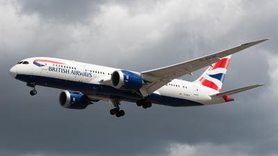 A picture of GZBJF - Boeing 7878 Dreamliner - British Airways - © David W. Wilson