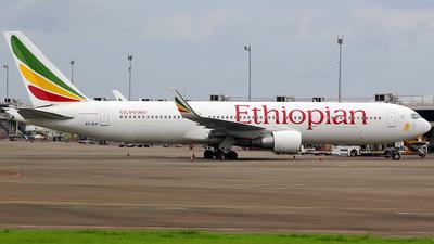 A picture of ETALP - Boeing 767360(ER) - Ethiopian Airlines - © Luqman Alif