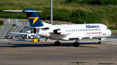 VH-JFE - Fokker 70 - Alliance Airlines