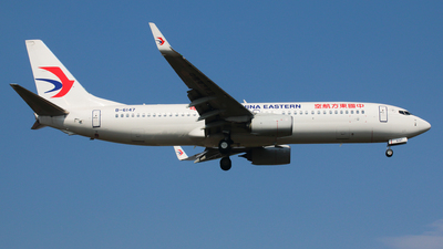 B-6147 - Boeing 737-89P - China Eastern Airlines