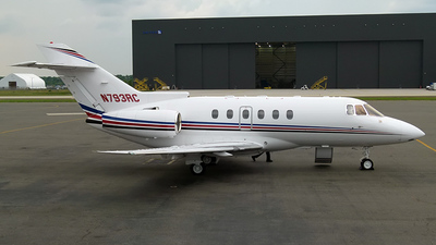 N793RC - Raytheon Hawker 800XP - Private
