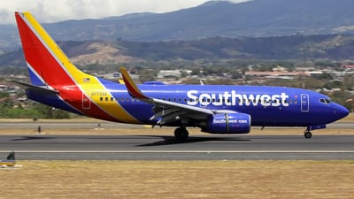 A picture of N773SA - Boeing 7377H4 - Southwest Airlines - © Denis Gonzalez - Costa Rica Spotter