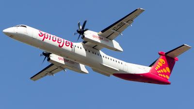 VT-SUO - Bombardier Dash 8-Q402 - SpiceJet