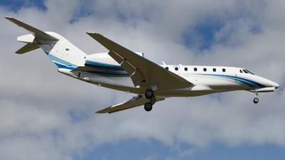 N750GF - Cessna 750 Citation X - Private