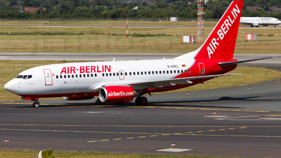 D-AGEL - Boeing 737-75B - Air Berlin (Germania)
