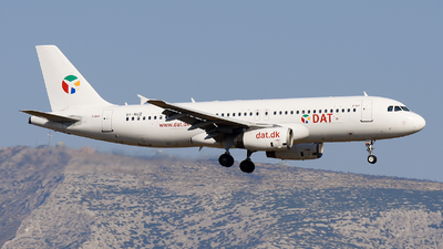 OY-RUZ - Airbus A320-233 - Danish Air Transport (DAT)