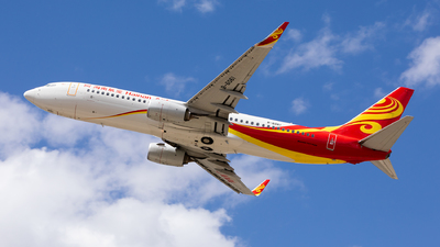A picture of B6061 - Boeing 73789P - Hainan Airlines - © shansixiang66