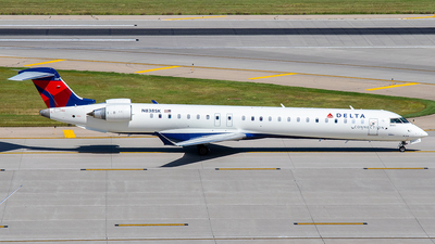 N838SK - Bombardier CRJ-900LR - Delta Connection (SkyWest Airlines)