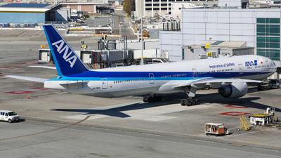 A picture of JA791A - Boeing 777381(ER) - All Nippon Airways - © KenKen Huang