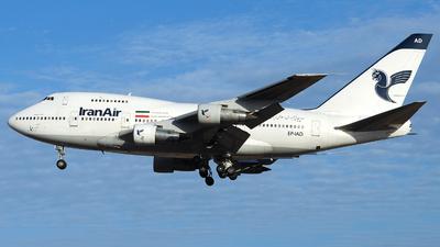EP-IAD - Boeing 747SP-86 - Iran Air