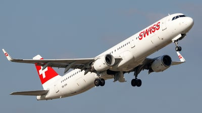 A picture of HBION - Airbus A321212 - Swiss - © TJDarmstadt