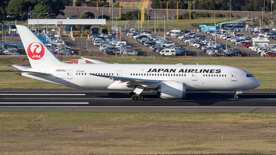 JA845J - Boeing 787-8 Dreamliner - Japan Airlines (JAL)