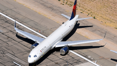 A picture of N308DN - Airbus A321231 - Delta Air Lines - © Rocky Wang