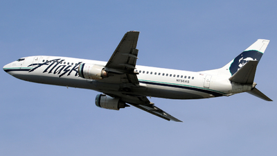N756AS - Boeing 737-4Q8 - Alaska Airlines