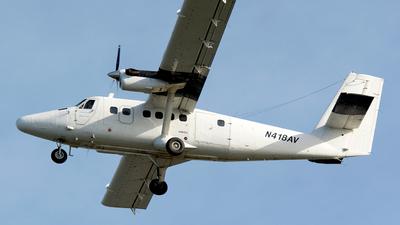 A picture of N418AV - De Havilland Canada DHC6300 Twin Otter - [521] - © Eduardo Paixao Silva