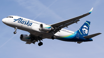 A picture of N363VA - Airbus A320214 - Alaska Airlines - © Evan Dougherty