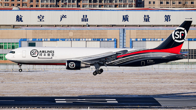 A picture of B220H - Boeing 76736N(ER)(BCF) - SF Airlines - © MingyaoLeonardo