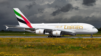 F-WWSZ - Airbus A380-842 - Emirates