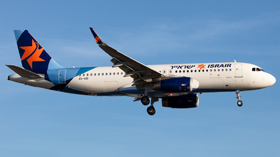 A picture of 4XABI - Airbus A320232 - Israir Airlines - © Airlinergeek