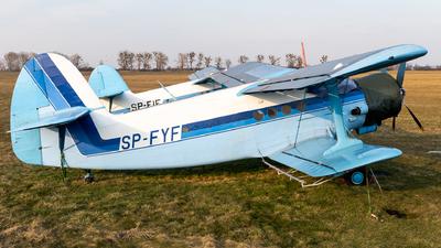 SP-FYF - PZL-Mielec An-2 - Private