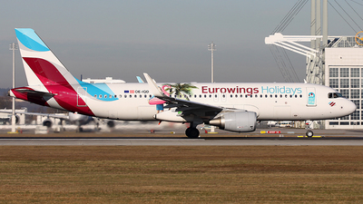 A picture of OEIQD - Airbus A320214 - Eurowings - © Heidi Wanninger