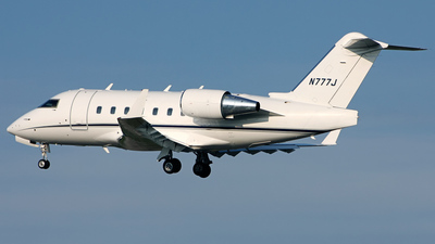 N777J - Bombardier CL-600-2B16 Challenger 604 - Private