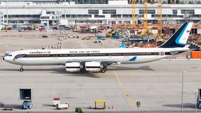 HS-TYV - Airbus A340-541 - Thailand - Royal Thai Air Force