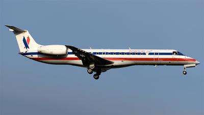 A picture of N840AE - Embraer ERJ140LR - [145656] - © Stabinski y Geniz MEX Spotters