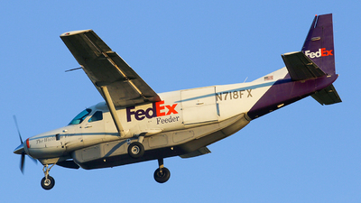N718FX - Cessna 208B Super Cargomaster - FedEx Feeder (Baron Aviation Services)