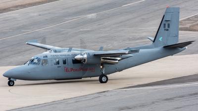 708 - Rockwell 690B Turbo Commander - Perú - Air Force