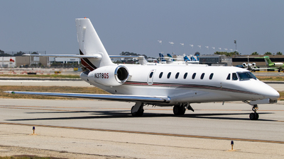 A picture of N378QS - Cessna 680 Citation Sovereign - NetJets - © Alex Crail