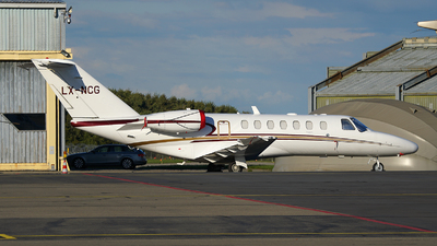 LX-NCG - Cessna 525 Citation CJ3 - Private
