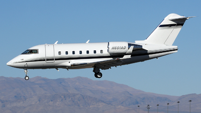 N601AD - Bombardier CL-600-2B16 Challenger 604 - Private