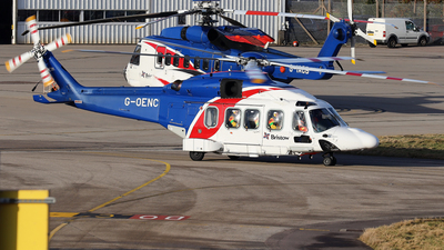 A picture of GOENC - Leonardo AW189 - Bristow Helicopters - © R.Rimestad