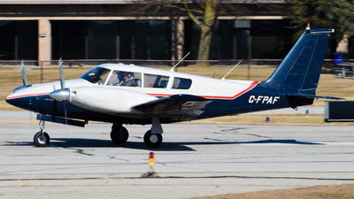 A picture of CFPAF - Piper PA30 Twin Comanche - [301284] - © Aaron Miles