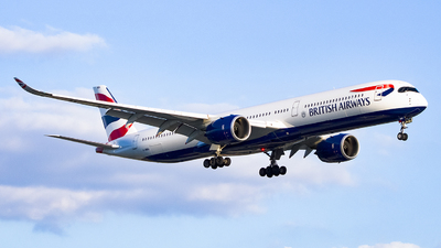 A picture of GXWBA - Airbus A3501041 - British Airways - © Ervin Eslami (uk.jets)