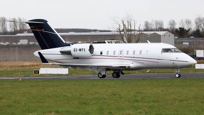 EI-WFI - Bombardier CL-600-2B16 Challenger 605 - Westair Aviation